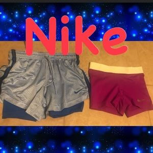 🔥🔥2 FOR ONE STEAL Womens Nike athletic shorts XS
